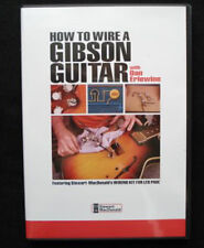 How to Wire a Gibson® Guitar (DVD) with Dan Erlewine / lutherie