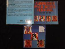 COFFRET 4 CD AMERICAN FOLK BLUES FESTIVAL / 1965 - 1966 - 1967 - 1968 /