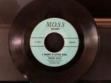 """Deuces Wild 7"""" 45 MOSS RECORDS I want a little girl / Sweet Mist Free Ship"""