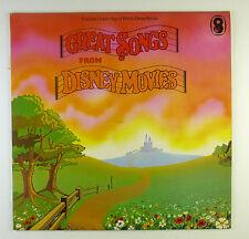 "12"" LP - Various - Great Songs from Disney Movies - B4044 - RAR"