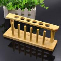 Reagenzglasständer Für 6 Reagenzgläser Reagenzglashalter Holz Reagenzglasgestell