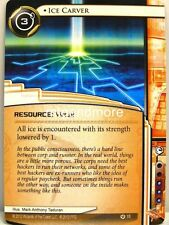Android Netrunner LCG - 1x Ice Carver  #015 - Overdrive Runner Draft Pack