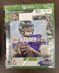 EA Sports Madden NFL 21 (Xbox One) BRAND NEW SEALED
