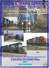 Keith's Trains Series RR DVD #35-CONRAIL, GT/CN, & NS, SOUTH BEND BUSY JUNCTION