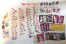 MY LITTLE PONY Mixed Lot of 106 Trading Cards, FunTats, Dog Tags, Figure Funko