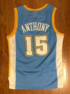 Men's Denver Nuggets #15 Carmelo Anthony Jersey