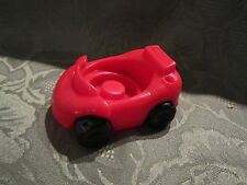 Fisher Price Little People Garage house city vehicle replacement Red Sports car