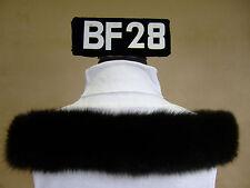 Kapuzenstreifen 59 cm Pelz Pelzrand Fellstreifen Kapuze Neu Fuchs BF28