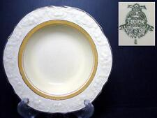 BEAUTIFUL CROWN DUCAL CRD143 RIMMED FRUIT BOWL [7] - EMBOSSED EDGE