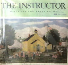 INSTRUCTOR MAGAZINE Lot #12 - 58 backissues 1932-1949 vintage ads education etc.