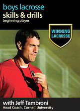 Winning Lacrosse: Skills and Drills for the Beginning Player DVD, Jeff Tambroni,