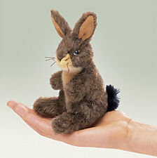 JACK RABBIT FINGER PUPPET # 2675 ~ FREE SHIPPING in USA ~ Folkmanis Puppets