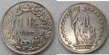 Schweiz 1 Franken 1937 AG