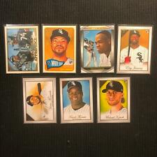 2019 TOPPS GALLERY CHICAGO WHITE SOX MASTER TEAM SET 7 CARDS  SP & INSERTS +