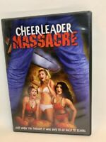 CHEERLEADER MASSACRE rare US New Concorde DVD cult slasher horror movie