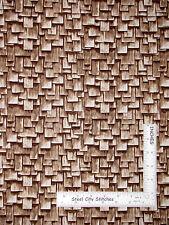 Roof Wood Slat Shingles Cotton Fabric Kanvas Studio Maine Attraction - Yard