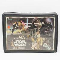 Vintage Star Wars Vinyl Action Figure Case w/ Inserts