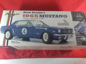 Classic Carlectables #18062 Norm Beechey's 1965 Ford Mustang 1:18 #4 ATCC Winner