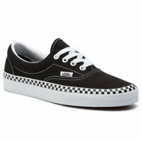 VANS CHECK FOXING ERA Scarpe Donna Sneakers Canvas BLACK VN0A38FRVOS1