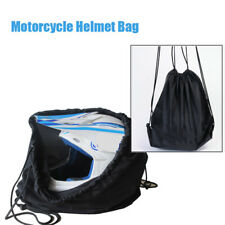 Motorcycle Motorbike Helmet Lid Protect Bag Black Draw pocket