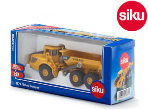Siku 1877 Volvo A40D Articulated Dump Truck 3 Axle Tipping Bed Die-Cast 1:87