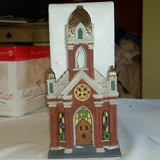 DEPT 56 HOLY NAME CHURCH  CHURCH Christmas in the City MINT COND. Retired 58875