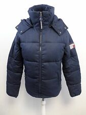 Mens Superdry Decompression Puffer Blue Large box57 31 E
