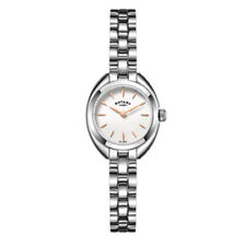 Rotary Polished Round Wristwatches