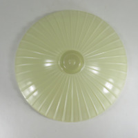 Vintage Antique Art Deco Glass Ceiling Light Fixture Cover Shade