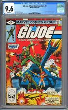 G.I. JOE A REAL AMERICAN HERO #1 - CGC 9.6 - WP NM+ 1982