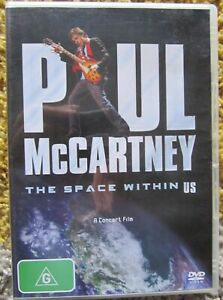 PAUL MCCARTNEY THE SPACE WITHIN US DVD concert film & special features