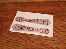 Transfert logo <Ruban Bleu  N°1 > pour Canot JEP