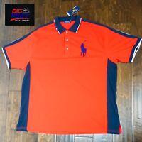 Big & Tall Men's Polo Ralph Lauren Big Pony RL Classic Polo Shirt Size LT TALL
