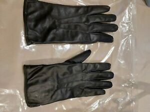 East German Army Leather Gloves