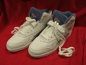 LA. Gear White Brats Athletic Shoe - Teal/Pink - US 10 - New