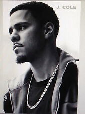 J COLE 3 24X36 POSTER R&B HIPHOP AMERICAN RAPPER NORTH CAROLINA FORREST HILLS!!!