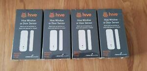HIVE Window & Door Sensors x 4 Brand New & Factory Sealed