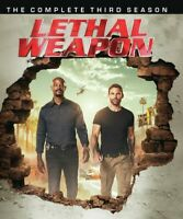 Lethal Weapon: Complete Third Season - 3 DISC SET (REGION A Blu-ray New)