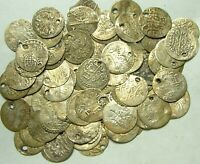 Lot, 5 original Islamic billon para coins/Ottoman Empire/Turkey, Islambul Sultan