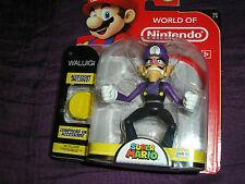 NINTENDO World of Nintendo Waluigi Figure