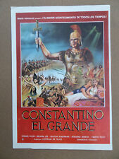 CONSTANTIN LE GRAND - CONSTANTINE AND THE CROSS - SYNOPSIS PEPLUM - CORNEL WILDE