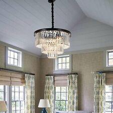 Modern Crystal Lighting Chandelier Pendant Ceiling Light Fixture Dining Room Bar