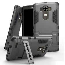 For LG G4 Hybrid Armor Protective Shockproof Impact Hard Case Stand Cover AU