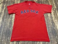 Jacoby Ellsbury Boston Red Sox Majestic Red Jersey/T-Shirt - Small