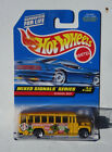 Hot Wheels Mixed Signals Series #736 #4/4 School Bus 1997 Made in Thailand NEW