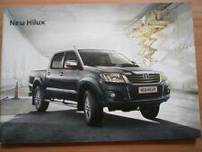 Toyota Hilux range brochure Nov 2011