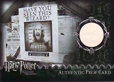 Harry Potter Prisoner of Azkaban Update Wanted Poster Prop Card
