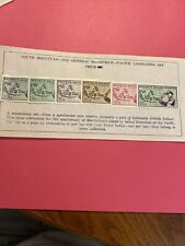 6 South Moluccas Stamps -1952- Mh