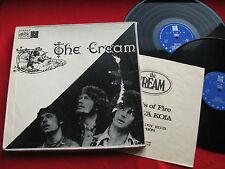CREAM wheels of fire ORIG CZECH RECORD CLUB box 2LP 1970 Supraphon