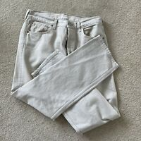 Levi's 501 Men's Button-Fly Straight Leg Denim Jeans Size 33x30 light Tan